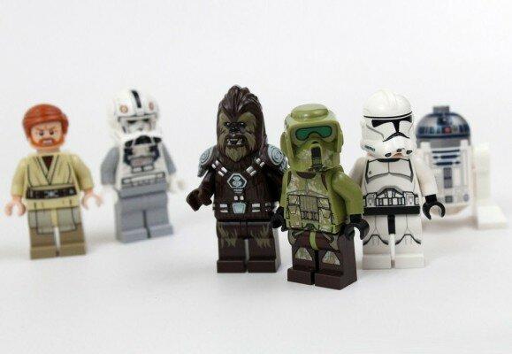Различные серии позволят ребенку устроить свои звездные войны